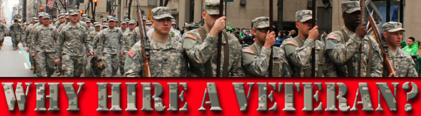 Hiring veterans has a wealth of benefits for your company or organization.