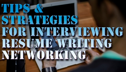 tips for resumes and interviews