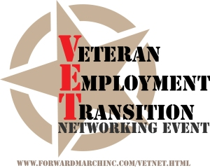 Veterans, Transitioning Military Personnel, and their families are encouraged to meet with employers at this free event.