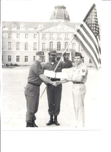 Reenlisting from Germany