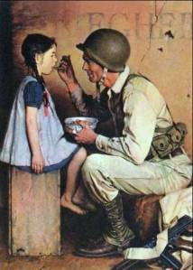 Thanksgiving 1944 - Norman Rockwell