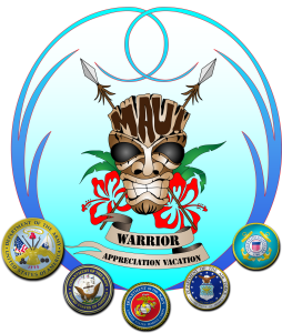 maui warrior appreciation vacation logo