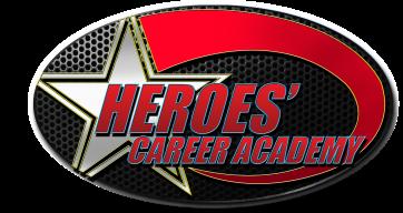 heroes career academy logo VIII