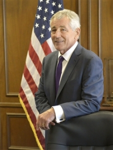 Chuck Hagel - Photo Credit - http://www.defense.gov/bios/biographydetail.aspx?biographyid=365