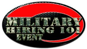 Military Hiring 101 Event Flyer
